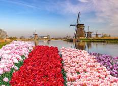 Cruise on the IJsselmeer, one of Holland\'s treasures (port-to-port cruise) Tour