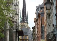 From the Côte Fleurie beaches to Paris (port-to-port cruise) (from Honfleur to Paris) Tour