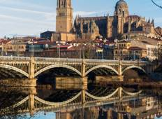From Portugal to Spain: Porto, the Douro Valley and Salamanca (port-to-port cruise) Tour
