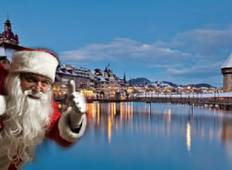 Christmas & New Year 10 Day European Tour - From Brighton Tour