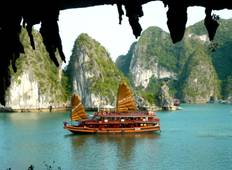 Halong-Bucht Party-Krezfahrt 3T/2N (ab Hanoi) Rundreise