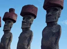 South America Getaway with Amazon, Santiago & Easter Island (from Manaus to Santiago) Tour