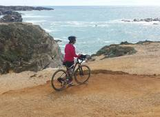 Self-guided bike tour in Portugal - Southwest Coast: Alentejo and Algarve\'s vicentina Coast Tour