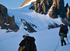 Canadian Rockies mountaineering course Tour