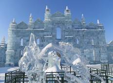 China\'s Harbin Ice Festival Tour