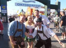Oktoberfest Munich (4-Star Four Points by Sheraton hotel) Tour