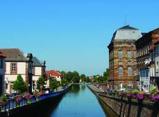 Cruise on the Marne-Rhine Canal from Strasbourg to Lagarde Tour