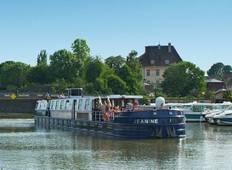 Burgundy barge cruise and the Rhone Rhine Canal (from Besancon to Dijon) Tour