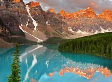 Canadas Rockies with Rocky Mountaineer Tour