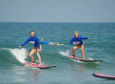 8 Day Tropical Island Escape Learn to Surf Adventure Tour