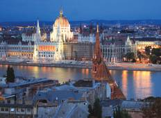 Easy Pace Budapest Vienna and Prague (Summer 2018, 10 Days) Tour