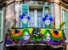 Iconic Mardi Gras New Orleans Tour