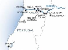 Lisbon, Porto and the Douro Valley and Salamanca Tour