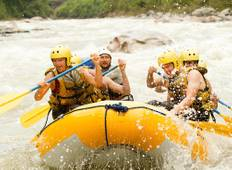 Costa Rica: Hike, Raft & Zipline Tour