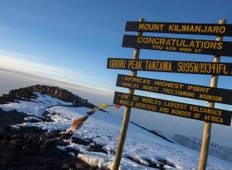 Kilimanjaro - Lemosho Route & Serengeti Adventure Tour