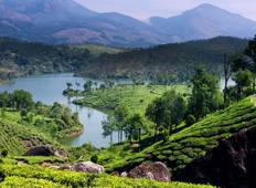 Southern India Tour with Beaches and Houseboat Experience Tour
