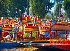 7 day tour: Teotihuacan at sunrise, + Xochimilco, Frida Khalo & Coyoacan + Taxco & Cuernavca + Puebla & Cholula + City Tour and Anthropology +  Magical Towns + Volcanoes Tour Tour
