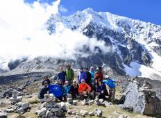 5 Days  Salkantay trek  to Machu Picchu  -  Group service Tour