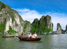 Halong Bay for 1 Day plus 2 Days Mai Chau Valley Trip Tour