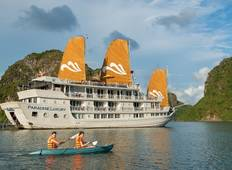 Super Hot Deal: Hanoi-Paradise Luxury Cruises Vacation Package 4 Days 3 Nights Tour