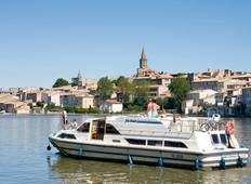 Waterways of Burgundy- Decize - Chatillion sur Loire Tour