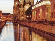 Jewels of Russia (from St Petersburg to Moscow) Tour