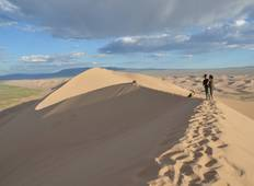 Dunes, Dinosaurs and the Flaming Cliffs: Mt. Biking the Gobi Desert Tour