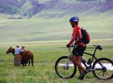 Family Mt. Biking in the Mongolian Steppe Tour