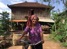 Ancient Angkor by Bike, Boat and Boots Tour