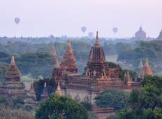 Mandalay to Pagan Four Night Cruise Tour