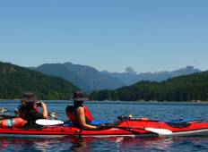 Discovery Islands Kayak Adventure Tour