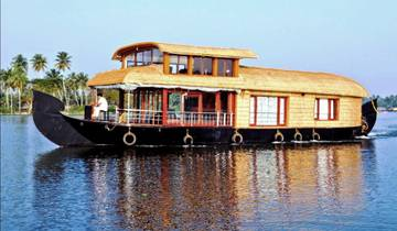 Best of Southern India with Houseboat Stay Tour