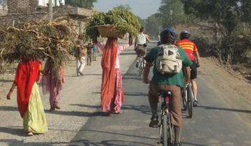 Cycling through Rajasthan Tour