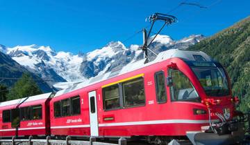 Scenic Switzerland by Train Tour