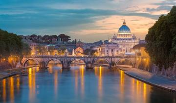 3 Nights London, 3 Nights Paris & 3 Nights Rome Tour