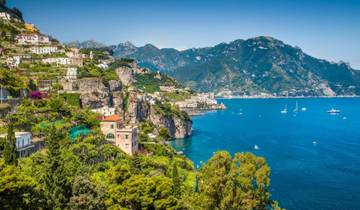 Naples, the Amalfi Coast, Sicily and Calabria (13 destinations) Tour