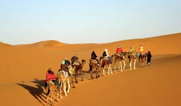 Merzouga Gorges & Deserts Adventure (Marrakech to Fes) Tour
