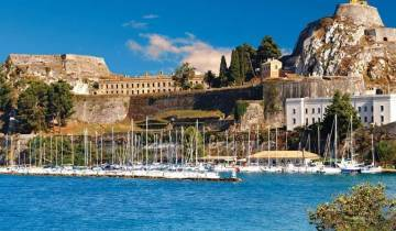 Secrets of Greece including Corfu with Santorini Extension Summer Tour