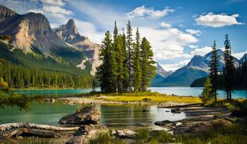 VIA Rail and the Canadian Rockies with Calgary Stampede & Alaska Cruise Tour