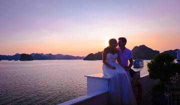 Vietnam Romantic Honeymoon 09 Days Trip extended to Phu Quoc Pearl Island for 3 Nights Tour