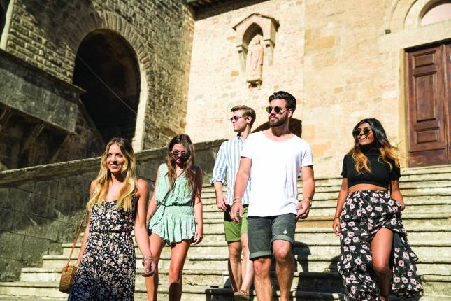 Trips to italy for older singles