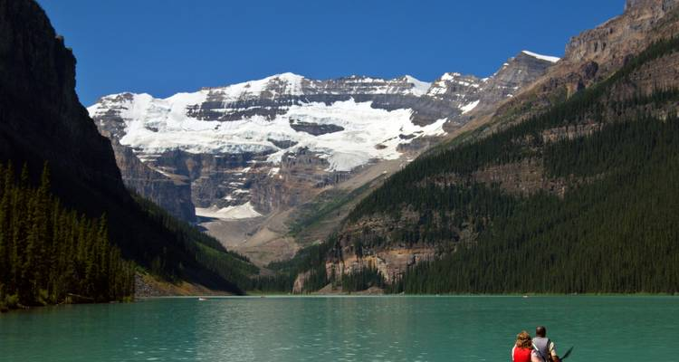 Canadian Rockies small groups national parks camping tour 7 days - Bindlestiff Tours
