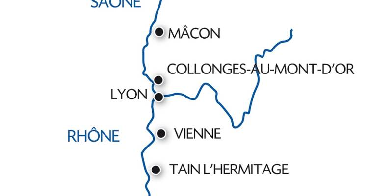 The Valleys of the Rhône and Saône: Gastronomy and vineyards (port-to-port cruise) - CroisiEurope River Cruises