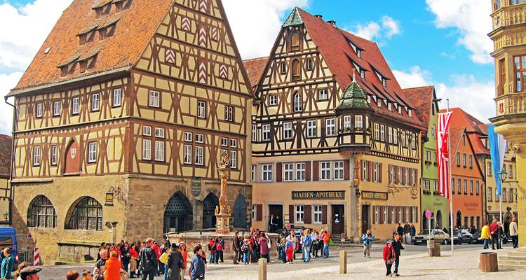 Romantic Road & Fairy Tale Road featuring Berlin, Munich, Hamburg and Rothenburg (Berlin to Munich) - Collette