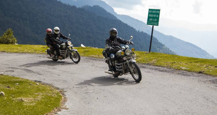 10 Days Himalayan Motorcycle Tour, Uttarakhand India - Eccentric Travels