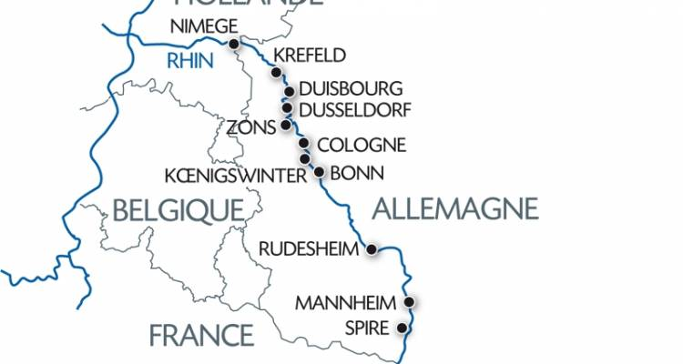 Holland and the romantic Rhine valley (port-to-port cruise) - CroisiEurope River Cruises