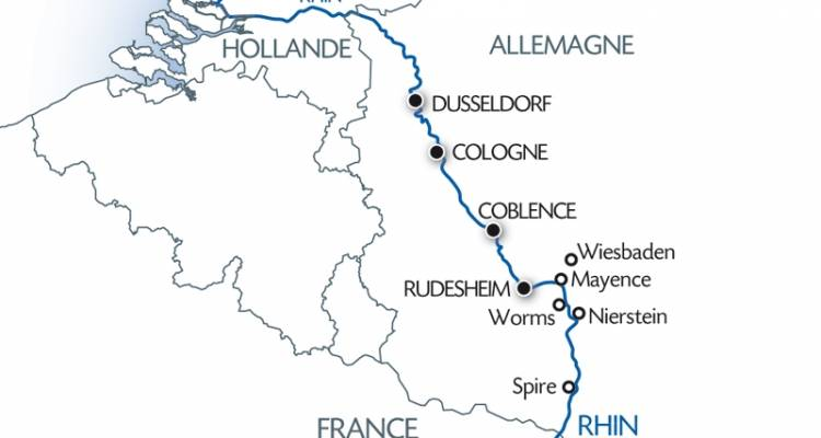 The Romantic Rhine Valley and Holland (11 destinations) - CroisiEurope River Cruises