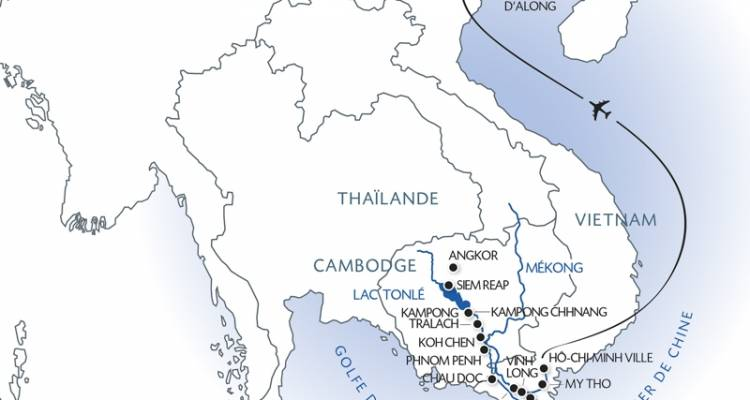 From the Temples of Angkor to the Mekong Delta & Hanoi and Halong Bay (port-to-port cruise) - CroisiEurope River Cruises