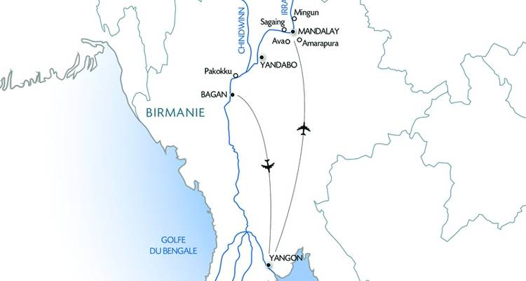 Mysterious and Unspoiled Myanmar (12 destinations) - CroisiEurope River Cruises