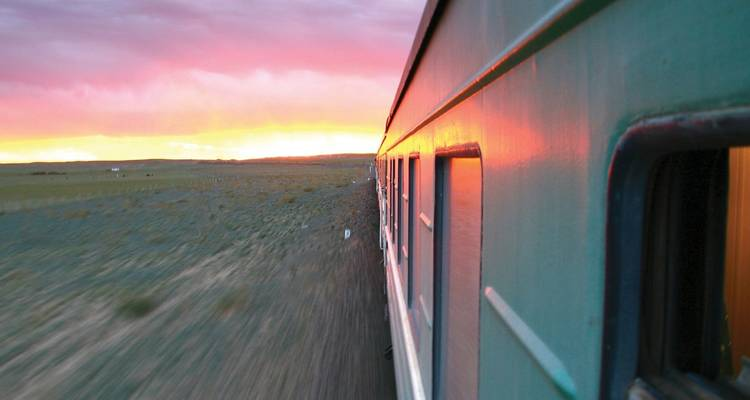 Trans-Mongolian Railway (Moscow to Beijing) - Topdeck